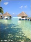 Maldives_bungolowinwater